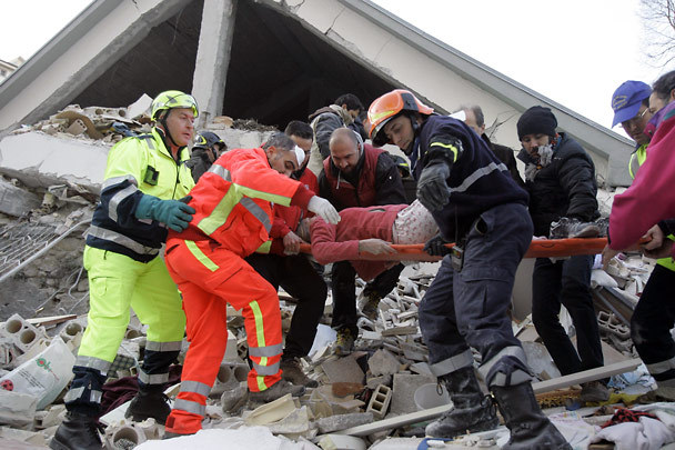 """Un """"buono nuova vita"""" per le vittime del terremoto."""