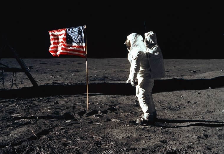 La Luna, l'Uomo e la nostra idea di America
