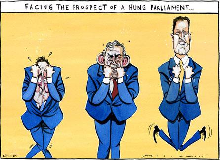 Gli errori di Cameron, la 'decapitazione' di Brown, il ricatto di Clegg. Uk all'italiana