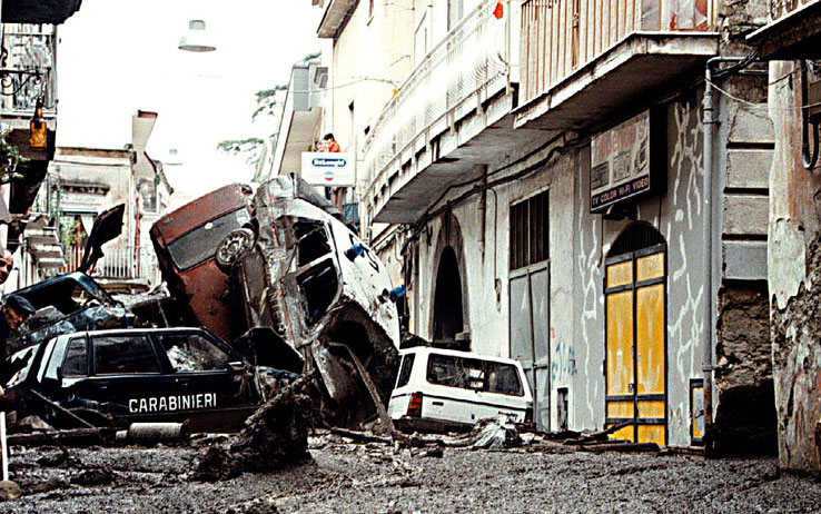 Sarno, un Mezzogiorno qualsiasi: l'alluvione del 5 maggio '98 non è servita a nulla