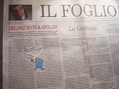 Falasca al Foglio: su riforma forense PDL e FLI son dei pirla...