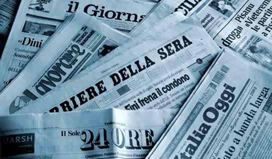 Rassegna stampa web - 9 agosto