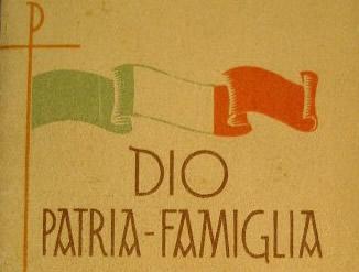 La nostra destra non è Dio, Patria e Famiglia