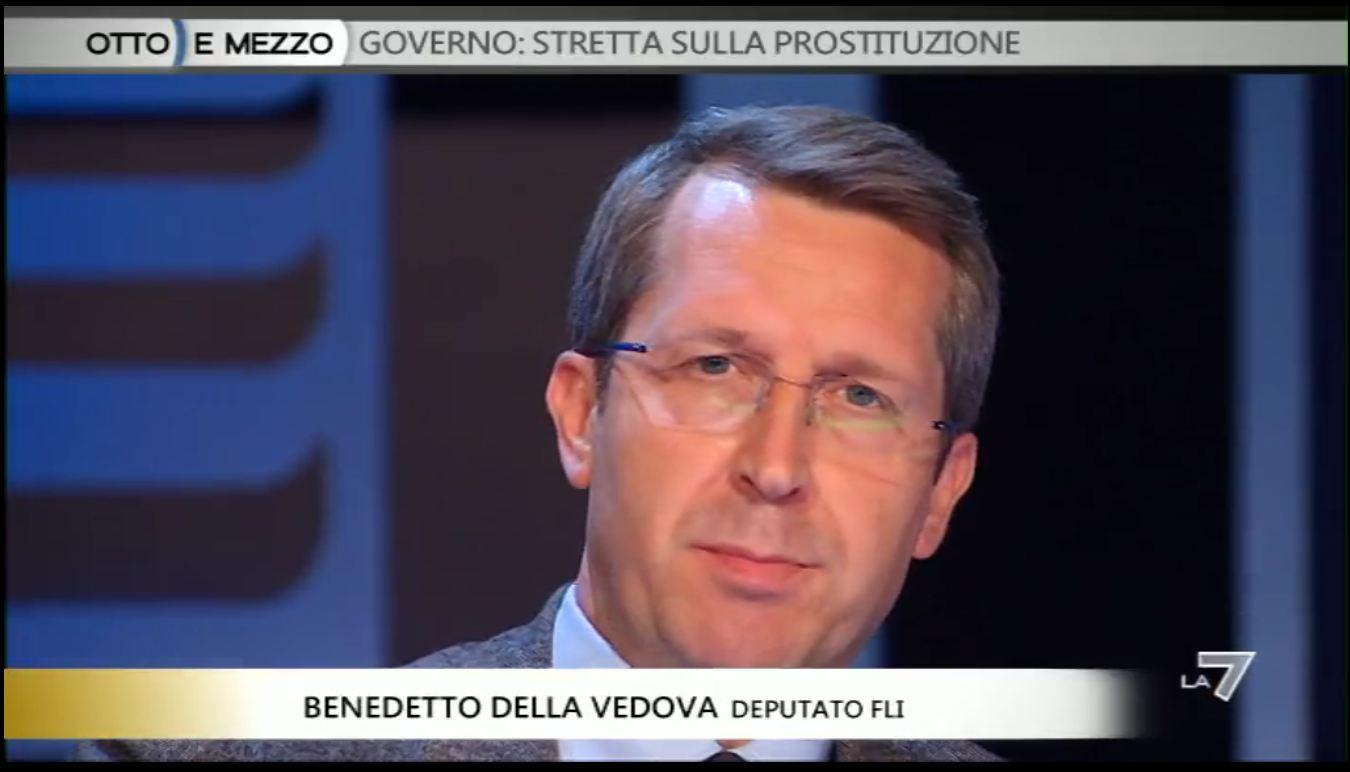 Prostituzione: Della Vedova a 8 e mezzo - VIDEO