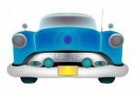 6222346-auto-blu-classico-anteriore-isolato-su-sfondo-bianco-illustrazione-di-arte-astratta-isolato-oggetti-
