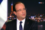 hollande in tv
