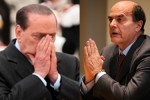 Bersani_Berlusconi